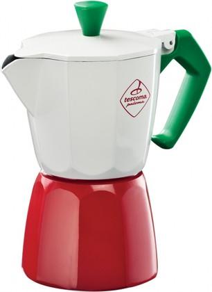 Кофеварка гейзерная Tescoma Paloma Tricolore 6 чашки 647036.00