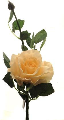 Цветок искусственный Top Art Studio Роза Лимбо с почкой розовый жемчуг 30см WAF0931-TA