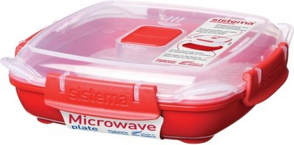 Контейнер низкий 440мл Sistema Microwave 1104