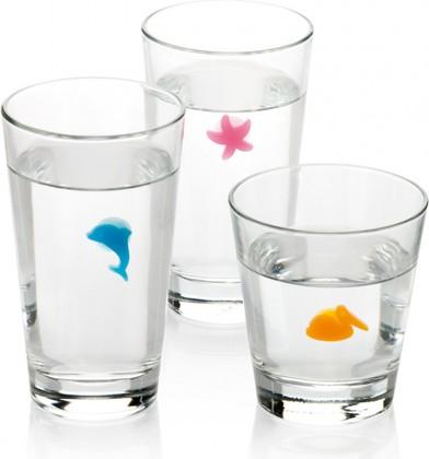 Этикетки для стаканов 12шт Океан Tescoma myDrink 308820.00