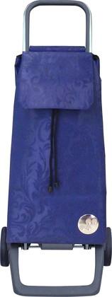Сумка-тележка хозяйственная синяя ROLSER Joy JET023azul