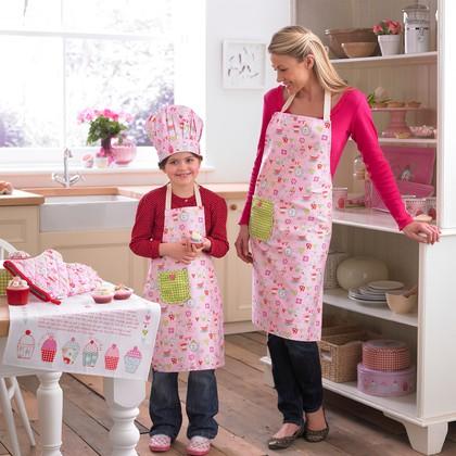 """Набор кухонного текстиля для мамы и дочки """"Сладости"""" Cooksmart 8679"""