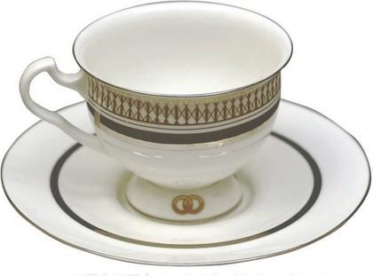 Чашка с блюдцем Счастливая судьба 2, ф. Айседора ИФЗ 81.20356.00.1