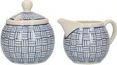 Сахарница и молочник Kitchen Craft London Pottery JY18LT46