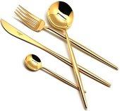 Столовые приборы, 24пр. Cutipol MOON GOLD 9231