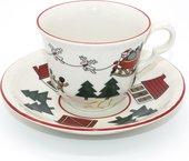 Чайная пара Masons Рождественская деревенька, 160мл 56533404005NN