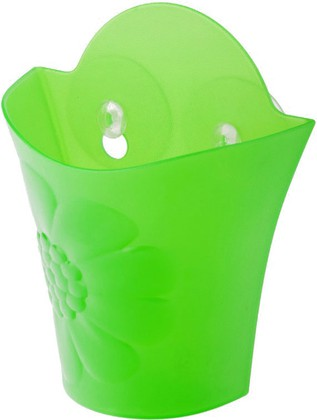 Подставка для щётки зелёная Vigar Cool 6014