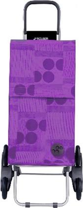 Сумка-тележка хозяйственная фиолетовая Rolser RD6 PARIS PAR026malva