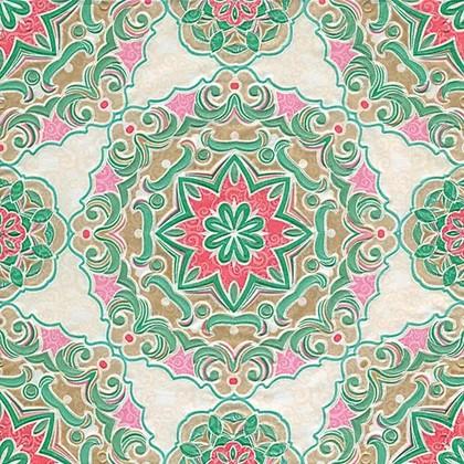 Салфетки для декупажа Paper+Design Калейдоскоп, выбитые, 33x33см, 16шт 24059