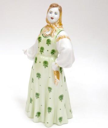 Скульптура Маша, Дулёвский фарфор ДС2230