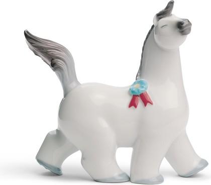 Статуэтка фарфоровая Пони 2 (Prancing Pony) 10см NAO 02001646