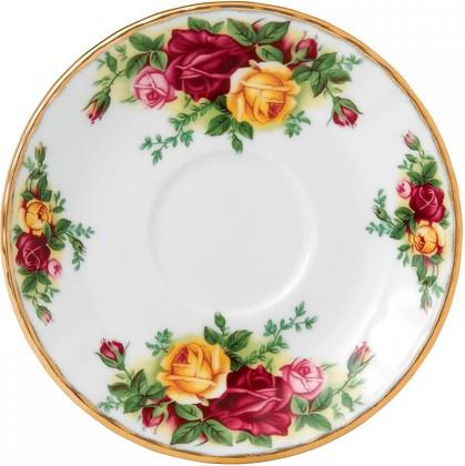 Блюдце кофейное Royal Albert Розы Старой Англии IOLCOR00137