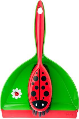 Совок, щётка Vigar Ladybug 3186