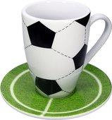 Кружка Koenitz Футбол, с подставкой 17 5 765 1088