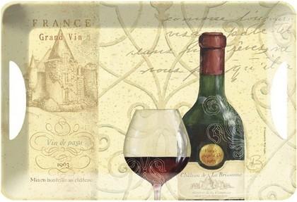 Поднос сервировочный 47x33см Вино Creative Tops TRLH3606