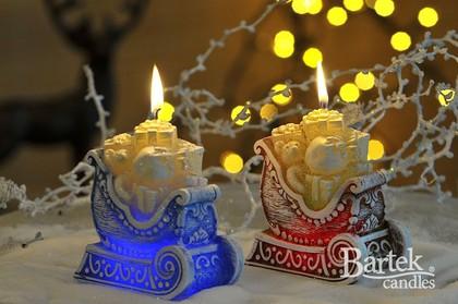 """Свеча """"Новогодние подарки"""" фигурка 10х12см Bartek Candles 151111"""