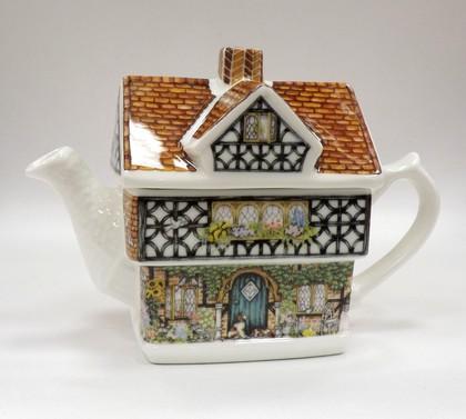 Чайник заварочный Домик с плющом 0.6л James Sadler COUSIVY1