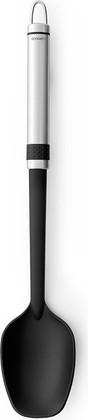 Ложка поварская Brabantia Profile, матовая сталь, чёрный 363665