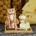 Статуэтка Дели кот (Deli Cat), 9.5см Enesco A20681