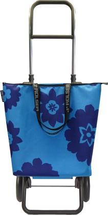 Сумка-тележка хозяйственная синяя Rolser MINI BAG PLUS CALA LOGIC RG MNB012azul