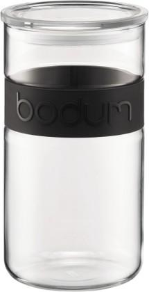 Банка для хранения 2л, чёрная Bodum PRESSO 11130-01