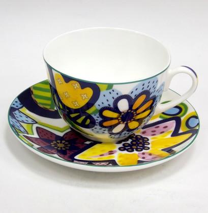 Чашка с блюдцем ИФЗ Весенняя-2, Букет для Катерины 81.25983.00.1