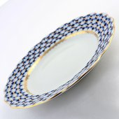 Тарелка десертная Кобальтовая сетка, ф. Тюльпан ИФЗ 80.50060.00.1