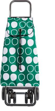 Сумка-тележка хозяйственная зеленая с рисунком Rolser I-Max Symbol IMX091Verde