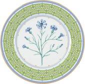 Тарелка декоративная ИФЗ Европейская-2, 270мм Небесно-голубой василёк 80.90799.00.1