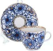 Чашка с блюдцем кофейная ИФЗ Тюльпан, Вьюнок 81.10109.00.1