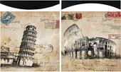 Модульная картина Top Art Studio Итальянские каникулы 38x38см, пара, дерево, лак WDP1735-TA
