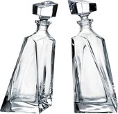 Набор для виски Crystalite Bohemia Любовники, 2 графина 99999/9/99C97/666