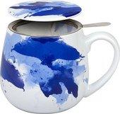 Кружка заварочная Koenitz Синие краски, 420мл 11 5 143 2252