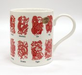 Кружка Образование Китайские символы, 400мл Leonardo Collection LP91302