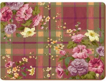 Набор подставок на пробке Английский сад 29x22см, 6шт Creative Tops 5107170