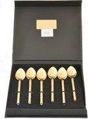Набор чайных ложек Herdmar Desire Old Gold Sw Multicolor, 6 предметов, золото 1584009VS00E16