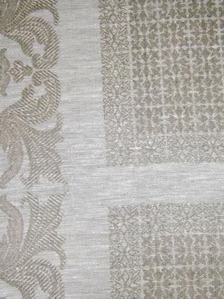 Скатерть Ренессанс 150x200, серый Белорусский лён 13c228/150x200/337/330