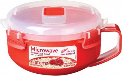 Чаша для завтрака 850мл Sistema Microwave 1112