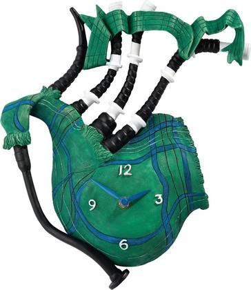 Настенные часы Зелёная волынка, 30см Enesco A24545