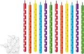 Свечи для торта с подставками 10см, 12шт. Tescoma DELICIA KIDS 630986