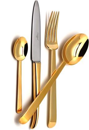 Столовые приборы, 24пр. Cutipol ERGO GOLD 9121
