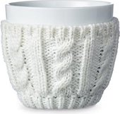 Чайный стакан Viva Scandinavia Infusion, 0.3л, фарфор, шерсть, белый V70702