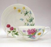 Чашка с блюдцем чайная Полевые цветы-2, ф. Купольная ИФЗ 81.23108.00.1
