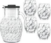 Кувшин со стаканами Luigi Bormioli Prezioso, 5 предметов 11855/01