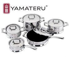 Японская кухонная посуда Yamateru из нержавеющей стали