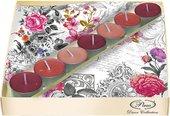 Набор 20 салфеток, 7 чайныйх свечей Королевская Роза Paw SSC025702