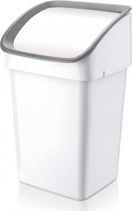 Мусорное ведро Tescoma Clean Kit 21л, серое 900683.00