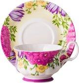 Чайная пара Top Art Studio Вальс цветов, 400мл LD2232-TA