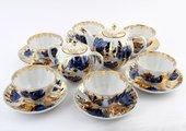 Сервиз чайный Золотой сад, ф. Тюльпан, 6 персон, 14пр. ИФЗ 81.10736.07.1