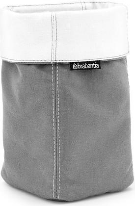 Корзинка для хранения тканевая большая, серая Brabantia 460326